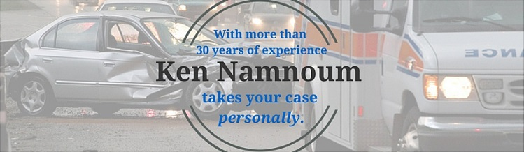 Bicycle, Car Accident and Personal Injury Lawyer Ken Namnoum